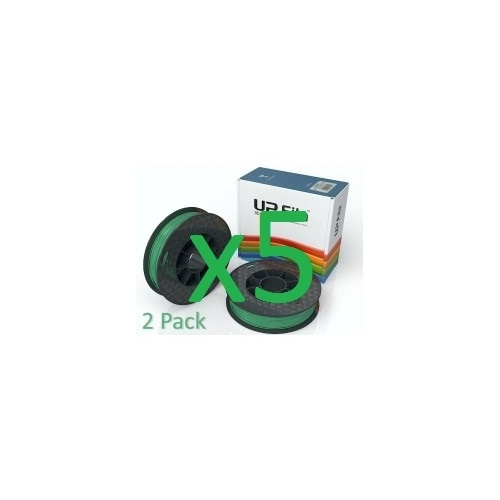 10 x ABS UP Original matte - Premium  1.75mm Filament 500g rolls - Green matte